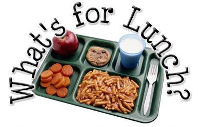 Lunch Menu Week 10/29