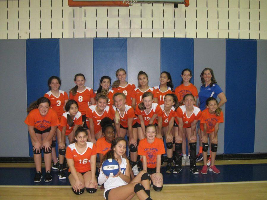 Lady Gators Volleyball on a Winning Streak.