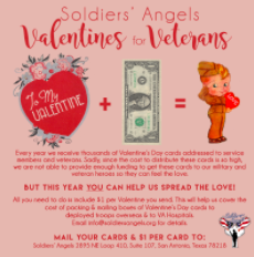Soldiers Receive Valentines Too