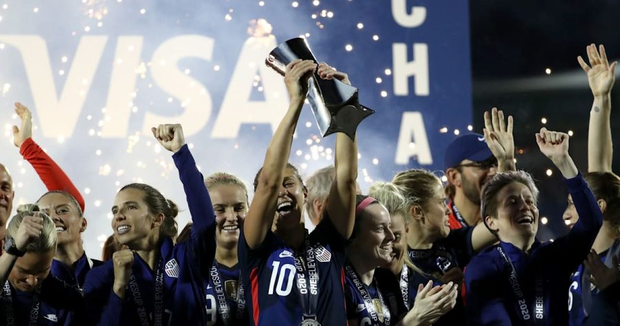 USA+Women%E2%80%99s+Soccer+Team+Wins+the+SheBelieves+Cup