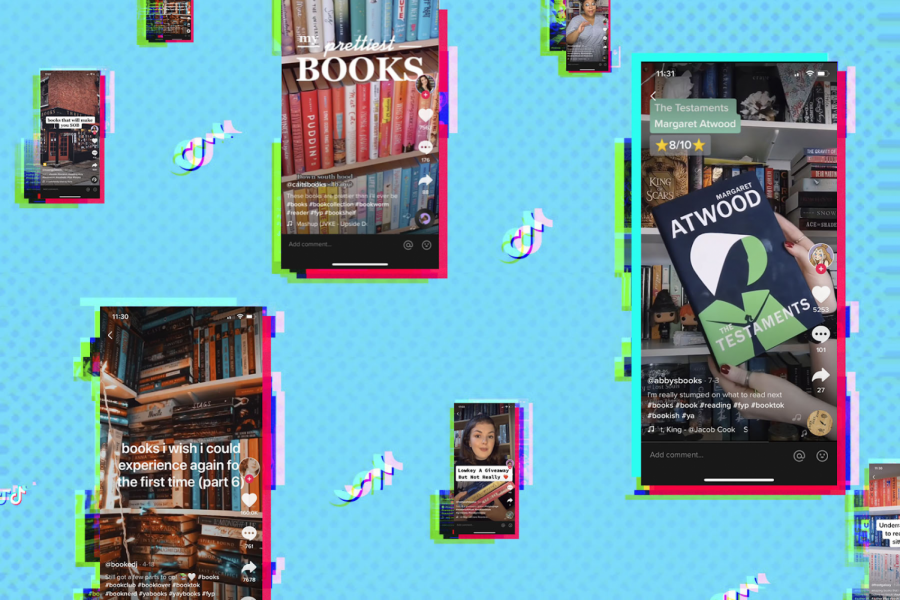 TikTok Creates a New Craze of Book Readers