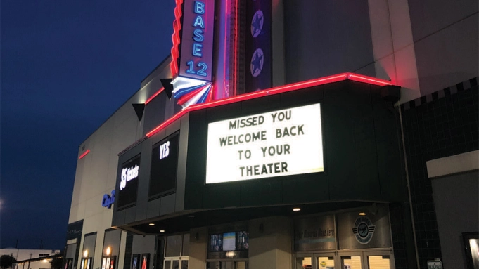 The Reopening Of Movie Theaters