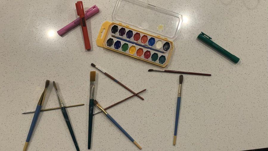 Word Art Made of Pencils