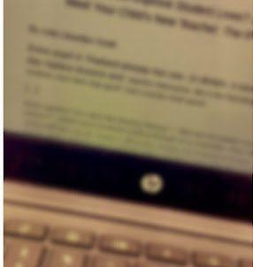 Test on Laptop Screen