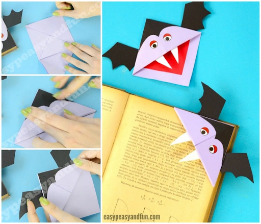 Vampire Book Mark Craft